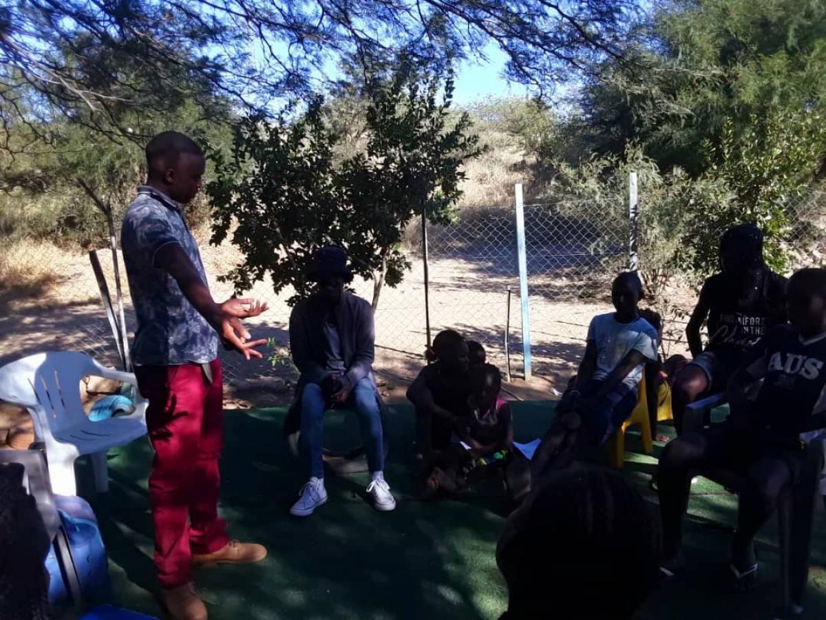 CA takes civic education to Megameno Orphanage